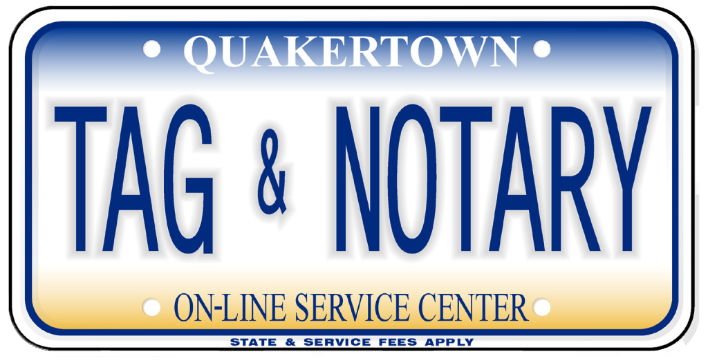 Quakertown Tag & Notary – We do it on the spot, while you wait!